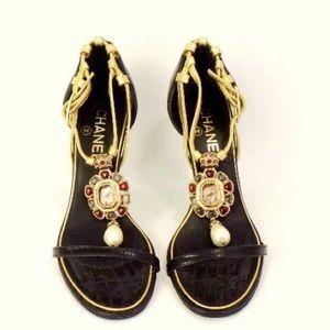 Authentic Chanel Heels